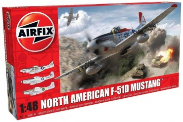 North American F-51D Mustang (1:48) - A05136