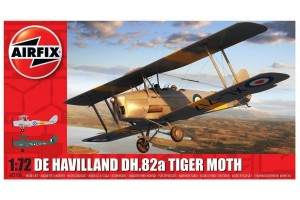De Havilland DH.82a Tiger Moth (1:72) - A02106