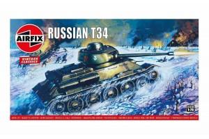 Russian T34 Medium Tank (1:76) - A01316V