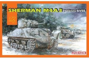 Sherman M4A3 (105mm) VVSS (1:72) - 7569