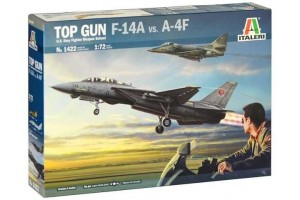 TOP GUN F-14A vs A-4F (1:72) - 1422