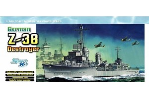 GERMAN Z-38 DESTROYER (SMART KIT) (1:700) - 7134