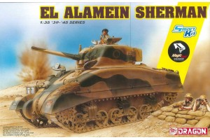 El Alamein Sherman (w/Magic Tracks) (SMART KIT) (1:35) - 6617