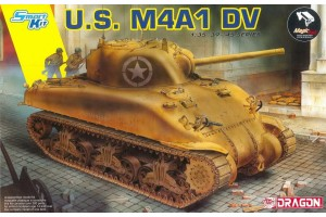 U.S. M4A1 DV (with Magic Tracks) (SMART KIT) (1:35) - 6618