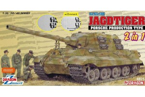 Jagdtiger Porsche Production (2 in 1) (1:35) - 6925