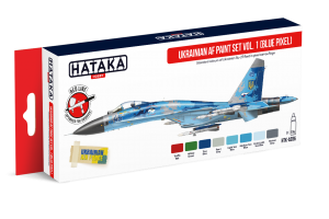 Ukrainian AF paint set vol. 1 (Blue Pixel) - AS96