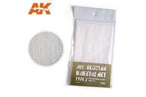 CAMOUFLAGE NET WHITE TYPE 2 - AK8063