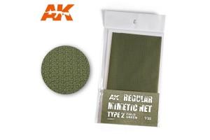 CAMOUFLAGE NET FIELD GREEN TYPE 2 - AK8067