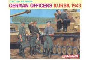 GERMAN OFFICERS (KURSK 1943) (1:35) - 6456