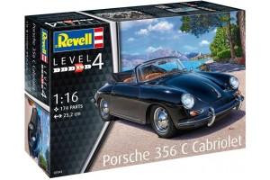 Porsche 356 Cabriolet (1:16) - 07043