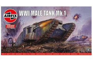 WWI Male Tank Mk.I (1:76) - A01315V