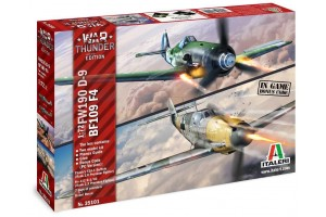 War Thunder BF109 F-4 and FW 190 D-9 (1:72) - 3501