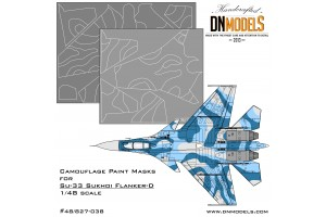 Mask set - Su-33 Flanker-D (1:48) - 48/827-038