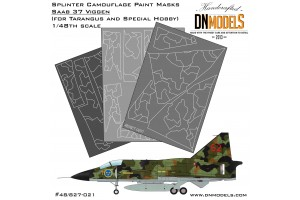Mask set - Saab 37 Viggen (1:48) - 48/827-021