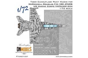Mask set - ATARS F/A-18D Hornet VMFA-224 (1:72) - 72/827-027