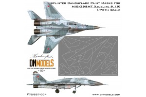 Mask set - MiG-29SMT (9-19) (1:72) - 72/827-004