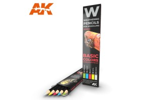 Basic colors: shading and demotion set - AK10045