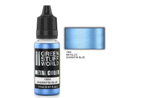 Sharkfin Blue Metalic - 17ml - 1864