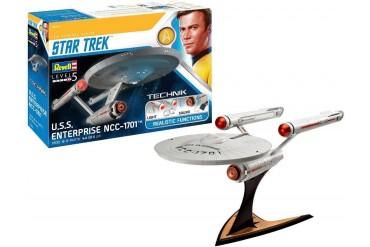 Plastic ModelKit TECHNIK Star Trek 00454 - USS Enterprise NCC-1701 (1:600)