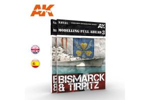 MODELLING FULL AHEAD 3: BISMARK & TIRPITZ