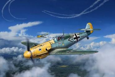 ModelSet letadlo 63893 - Messerschmitt Bf109 F-2 (1:72)