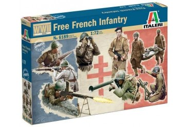 WWII - Free French Infantry (1:72) - 6189
