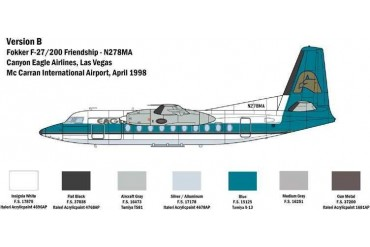 Model Kit letadlo 1430 - Fokker F 27  Friendship (1:72)