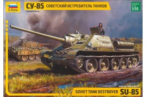 SU-85 Soviet Tank Destroyer (1:35) - 3690