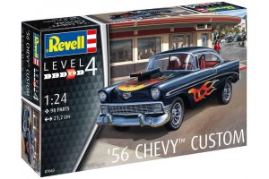 '56 Chevy Customs (1:24) - 07663