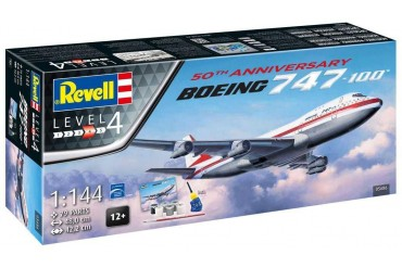 Boeing 747-100, 50th Anniversary (1:144) - 05686