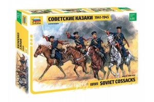 Soviet Cossacks (RR) (1:35) - 3579