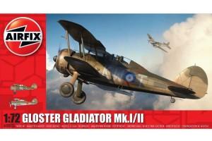 Gloster Gladiator Mk.I/Mk.II (1:72) - A02052A