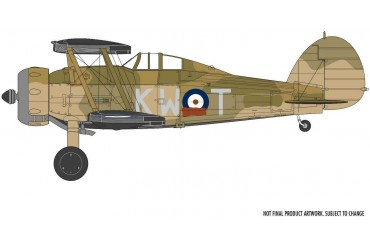 Classic Kit letadlo A02052A - Gloster Gladiator Mk.I/Mk.II (1:72)