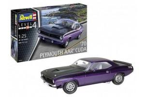 '70 Plymouth AAR Cuda (1:25) - 07664