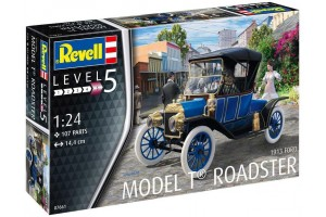 Ford T Modell Roadster (1913) (1:24) - 07661