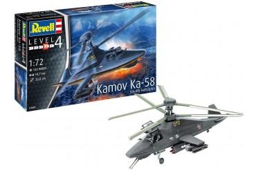 ModelSet vrtulník 63889 - Kamov Ka-58 Stealth (1:72)