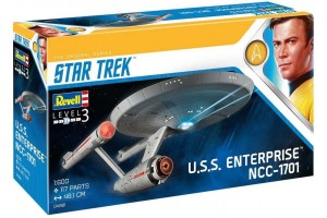 U.S.S. Enterprise NCC-1701 (TOS) (1:600) - 04991