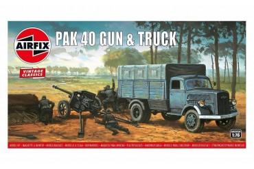 PAK 40 Gun & Truck (1:76) - A02315V
