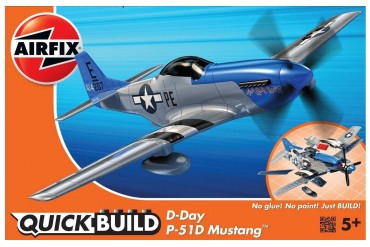 Quick Build - D-Day P-51D Mustang - J6046