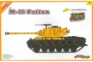 M46 Patton + G.I. (1:35) - 9147