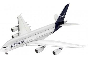 Plastic ModelKit letadlo 03872 - Airbus A380-800 Lufthansa New Livery (1:144)