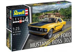 Plastic Modelkit auto 07025 - 1969 Boss 302 Mustang (1:25)