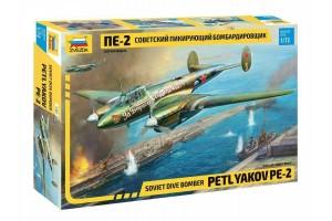 Model Kit letadlo 7283 - Petlyakov Pe-2 (1:72)