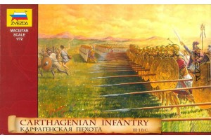 Carthagenian Infantry (1:72) - 8010