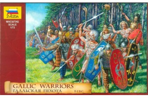 Gallic Warriors (1:72) - 8012