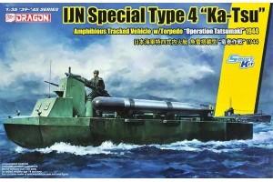 """IJN SPECIAL TYPE 4 """"KA-TSU"""" w/TORPEDO """"OPERATION TATSUMAKI"""" - 6849"""
