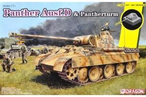 Sd.Kfz.171 Panther Ausf.D mit Pantherturm (1:35) - 6940