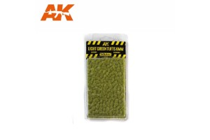 Light green tufts - 6mm - 8118