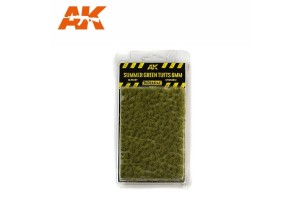 Summer green Tufts - 6mm - 8120