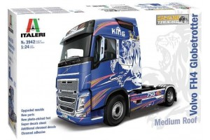 VOLVO FH4 Globetrotter Medium Roof (1:24) - 3942